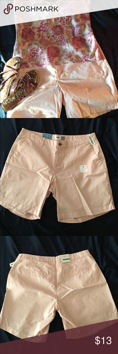 """Old Navy pale pink shorts - Size 14 Brand new with tags! Super cute pale pink shorts in a great length. 7"""" inseam. Perfect! Top and shoes for sale in my closet ....bundle and save! Old Navy Shorts"""