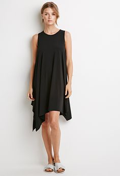 Stretch Knit Trapeze Dress | Forever 21 - 2000132329