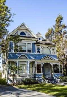 Victorian Home, Pasadena, CA