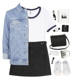 """""""We got each other."""" by bomlion ❤ liked on Polyvore featuring H&M, Marc by Marc Jacobs, Topshop, adidas, Muji, Alexander Wang, Georg Jensen, Native Union and Aesop"""