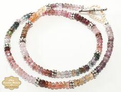 Easy Multicolor Gemstone Necklace Tutorial: Gather Your Materials