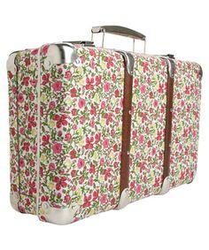 Liberty Print Suitcase.