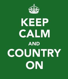 It Speaks to my heart and I belt it out right back... Makes me dance and makes me stop to listen... Makes me crazy and calms me... Oh, how I love my country music!