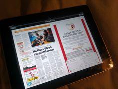 Västra Nyland på iPad