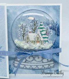 Still Scenes Globe - - Visit the post for more. Homemade Christmas Cards, Stampin Up Christmas, Christmas Cards To Make, Xmas Cards, Homemade Cards, Handmade Christmas, Holiday Cards, Scandinavian Christmas, Stampin Up Weihnachten