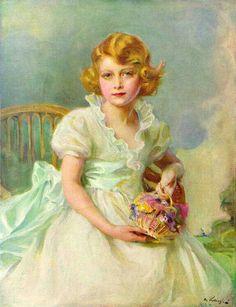 Queen elizabeth aged 7,
