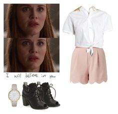 """Lydia Martin - tw / teen wolf"" by shadyannon ❤ liked on Polyvore featuring Aéropostale and Kate Spade"