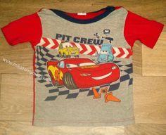 Cars kojenecké bavl. triko vel 80 kluk
