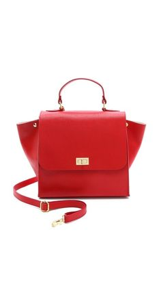 ONE by Michaella Barri Collection Classic Satchel A substitute for the Celine Trapeze I will never have