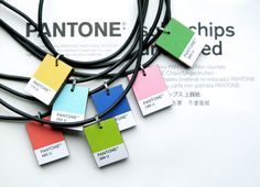Pantone Necklace