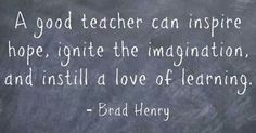 I hope to be a good teacher to all of my students!!!