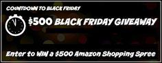 Joanne Jaytanie :        Enter to Win our $500 Amazon Shopping Spree...