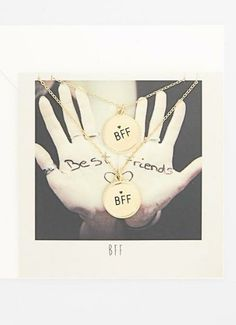 BFF Charm Necklaces!
