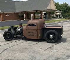Hot Rod Trucks, Old Trucks, Hot Rod Pickup, Us Cars, Rat Rods, Bobber, Rats, Cool Cars, Fun Stuff