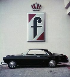 Lancia Florida II Pininfarina - The concept car for the Flaminia sedan series, probably the best of all Pinin Farina's masterpieces.