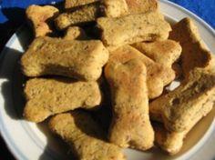 2 Easy Homemade Dog Treat Recipes Using Peanut Butter