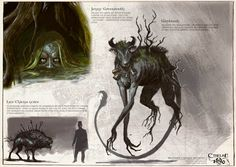 Bestiaire Croque-mitaines - Cthulhu 1890