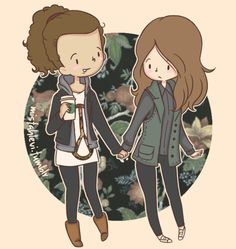should-have-kissed-1d: Danielle & Eleanor = Deleanor so there's a ship for this too????