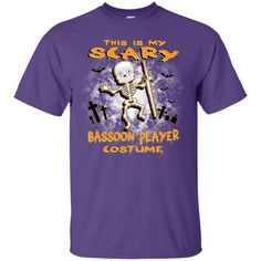 Scary Bassoon Costume T-Shirt