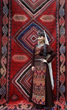 Armenian traditional Garment of Vaspurakan by Teryan Cultural Centre.