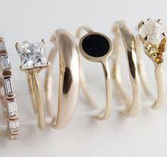 ριитєяєѕт: @ѕσρнιєкαтєℓσνєѕ | Bario Neal, a handcrafted jewelry studio in Philadelphia that uses reclaimed precious metals, ethically-sourced stones and environmentally conscious practices. They have beautiful engagement rings and wedding bands, as well as necklaces, earrings and bracelets.