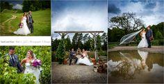 Hockley Valley wedding photos of a fall wedding