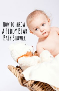 How to Throw a Teddy Bear Themed Baby Shower