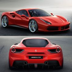 """The Ferrari 488 GTB The 458's 660bhp Turbocharged Successor What Do You Think Guys ..?"""