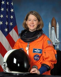 Pamela Melroy was a United States Air Force officer and a NASA astronaut. She served as pilot on Space Shuttle missions and and commanded mission Space Shuttle Challenger, Wellesley College, Space Shuttle Missions, Nasa Astronauts, Space Program, International Space Station, Godly Woman, Space Travel, Space Exploration