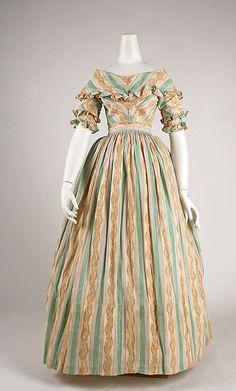 Dress, Morning  Date: ca. 1837 Culture: British