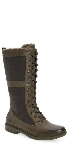 UGG water proof boots Gorgeous Gorgeous, Chic Chic, Waterproof Boots, Shoe Collection, Rain Boots, Uggs, Wedges, Shoes, Fashion