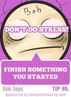 Bob's Stress tip #95/101