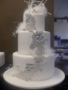 More beautiful cake bling! By Oakleigh Quality Cakes