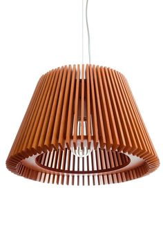 lámpara colgante de diseño -mdf madera - mod 611-608