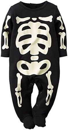 Carter's Halloween Bodysuit (Baby) - Skeleton Carter's is the leading brand of…