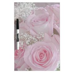 Tissue Soft Roses Dry-Erase Boards