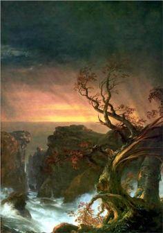 The Voyage of Life: Manhood (detail) - Thomas Cole