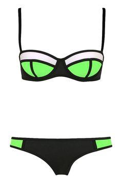 Ubasics Women's Summer Spaghetti Strap Beach 2 Pieces Bra Bikini Established *** Unbelievable  item right here! : Plus size bikini