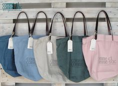 "colours big shopping bag ""Comme sac"""