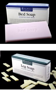 Bed Soap and Leg Soap for Restless Leg Syndrome and Leg Cramps from the People's Pharmacy