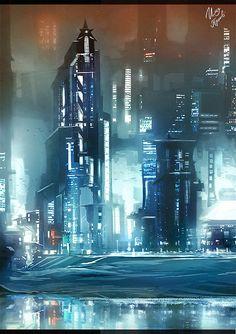 "RaZuMinc's ""The future city (by ilya Tyljakov)"""