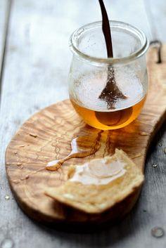 Honey on Fresh Bread