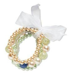 Beaded Bracelet with bow