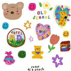 Journal Stickers, Planner Stickers, Overlays, Korean Stickers, Cute Doodles, Aesthetic Stickers, Cartoon Wallpaper, Cute Stickers, Kawaii Stickers