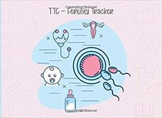 TTC - Fertility Tracker: Trying To Conceive (TTC) is not easy! Monitor your menstrual cycle and fertile period, BBT chart + PMS tracker all in one . 120 pages (Women Health log book COLLECTION) Charts, Fertility Tracker, Low Mood, Memory Problems, Conceiving, Trying To Conceive, Menstrual Cycle, Pms