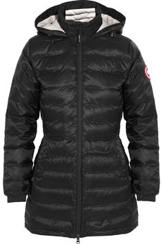 Canada Goose | Camp hooded quilted down coat | NET-A-PORTER.COM