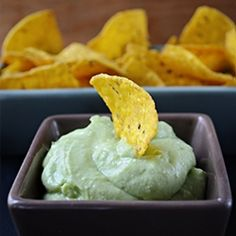Avocado Dip - thick and creamy, it is a success at any party.