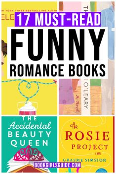 The best romantic comedy book list that will actually make you laugh out loud. These rom coms novels are the perfect guilty pleasure when you need a break from a heavier book.   Add these to your 2020 reading list!  romantic comedy novels | rom com books |contemporary romance | books to read romance