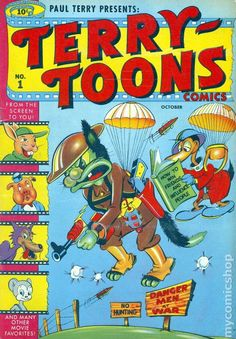TERRY-TOONS 1, GOLDEN AGE TIMELY COMICS