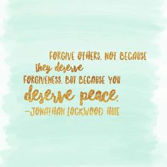 #innerpeace #dailyquote #forgiveothers